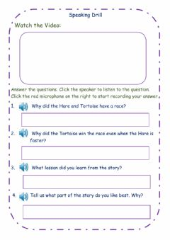Interactive worksheet Speaking Drill Sample