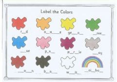 Interactive worksheet Complete the colour