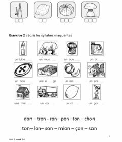 Interactive worksheet Le son ON-grade 2