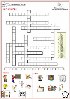Interactive worksheet 4.1-classroom rules