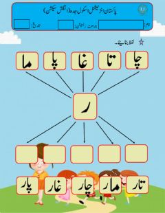 Interactive worksheet Teen harfi alfaz