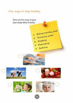 Interactive worksheet Five ways to stay Healthy Part 1