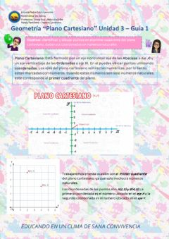 Interactive worksheet PlanoCartesiano-U3-Guia1