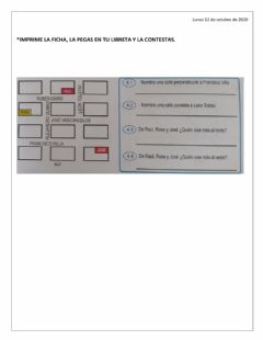 Interactive worksheet Croquis