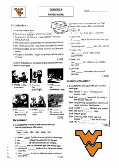 Interactive worksheet Go getter 2 check yourself 6.7