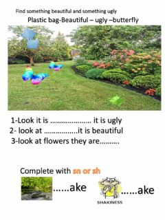 Interactive worksheet Beautiful nature
