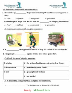 Interactive worksheet Exercise on goal 3 expansion