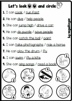Interactive worksheet 4.3. Cartoon Characters - Action Verbs