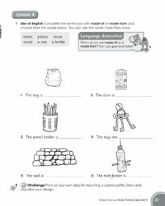 Interactive worksheet Recycled materials2