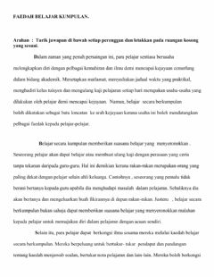 Interactive worksheet Karangan