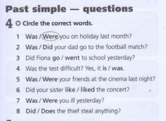Interactive worksheet Past simple - questions