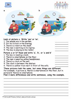 Interactive worksheet Grade3-Lesson36