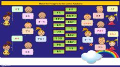 Interactive worksheet Hiragana (A,KA,SA)