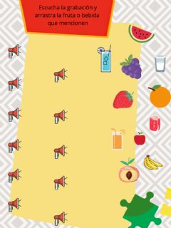 Interactive worksheet Frutas en chino