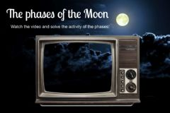 Ficha interactiva Phases of the moon