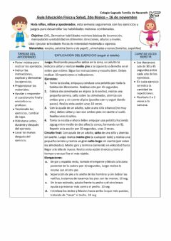 Interactive worksheet 2do básico