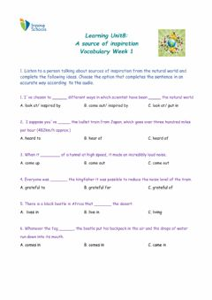 Interactive worksheet Listening Activity B1+