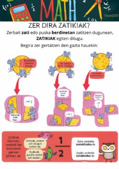 Interactive worksheet Zatikiak 1