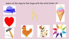 Interactive worksheet Letter Hh