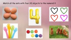 Interactive worksheet Numeral 4