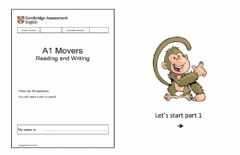 Ficha interactiva Movers R&W - Mock Nov 14th