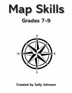 Interactive worksheet Map Skills