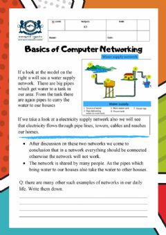 Ficha interactiva Computer Network: Introduction