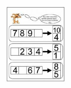 Interactive worksheet Sayılar