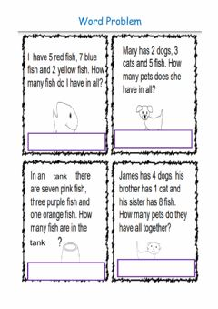 Interactive worksheet Addition Problem Solving