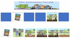 Interactive worksheet Story sequence- The Enormous Turnip