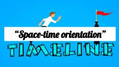 Interactive worksheet Space-time orientation