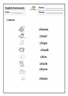 Interactive worksheet Lesson 29:sound ch