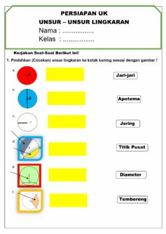 Interactive worksheet Latihan UK Matematika