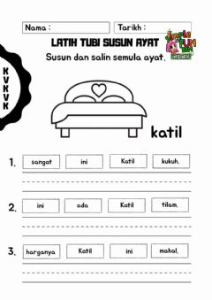 Interactive worksheet Bina ayat