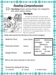 Interactive worksheet Classifying