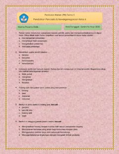 Interactive worksheet PH PPKn KD3.3 Tema 5