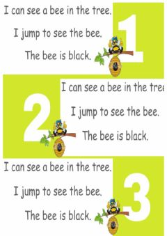Interactive worksheet Reading the bee
