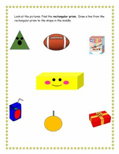 Interactive worksheet Rectangular prism
