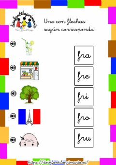 Interactive worksheet Trabadas FR