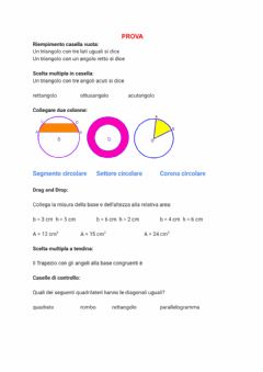 Interactive worksheet Prova di liveworksheets