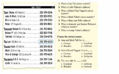 Interactive worksheet Exercise -1 (LIVEWORKSHEETS)- Reading a phone log in a newspaper