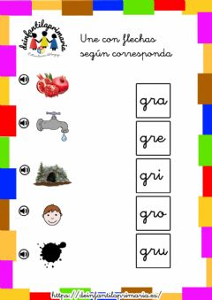 Interactive worksheet Trabadas GR