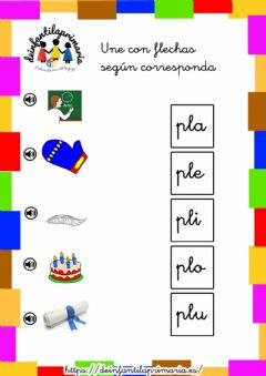 Interactive worksheet Trabadas PL