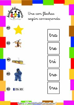 Interactive worksheet Trabadas TR