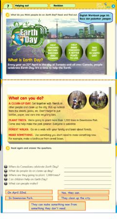 Ficha interactiva English Year 4 GetSmart Plus Module 7 Reading page 66