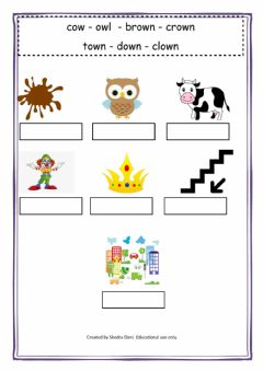 Interactive worksheet ow-sound-worksheet