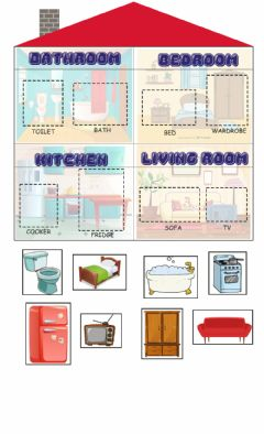 Interactive worksheet My house!