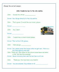 Interactive worksheet A2-Travel Reading