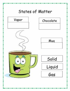 Interactive worksheet States of matter