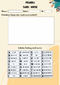 Interactive worksheet Sandi morse